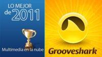 Mejor servicio de multimedia en la nube de 2011: Grooveshark