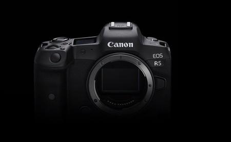 Canon EOS R5, se anuncia la mirrorless de formato completo más rápida de la casa, con estabilizador integrado y vídeo 8K