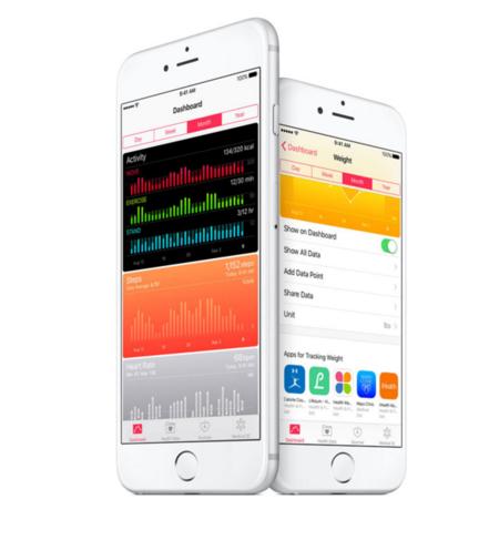 Aplicación salud IOS 9.3