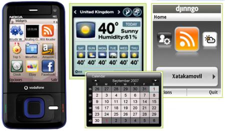 Orange añadirá widgets a sus terminales más básicos