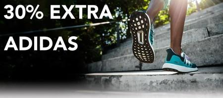 Últimas tallas en Adidas: 30% de descuento adicional con este cupón