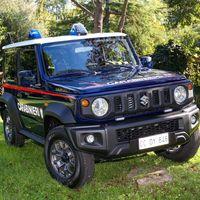 El Suzuki Jimny también patrullará calles y caminos como coche de policía de los Carabinieri