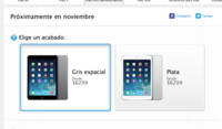 IPad Mini con pantalla de retina ya disponible en México