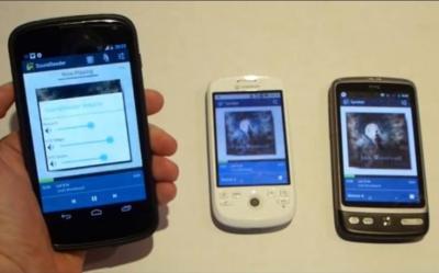 SoundSeeder, Samsung Group Play para cualquier smartphone