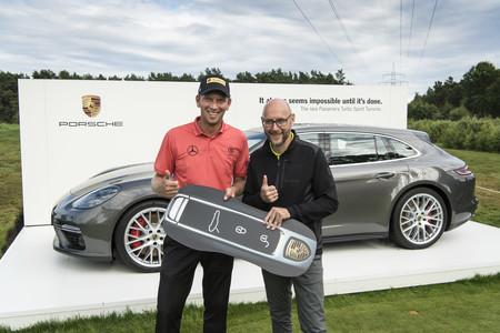Hace un 'hoyo en uno' y se lleva un Porsche Panamera Turbo Sport Turismo de más de 180.000 euros