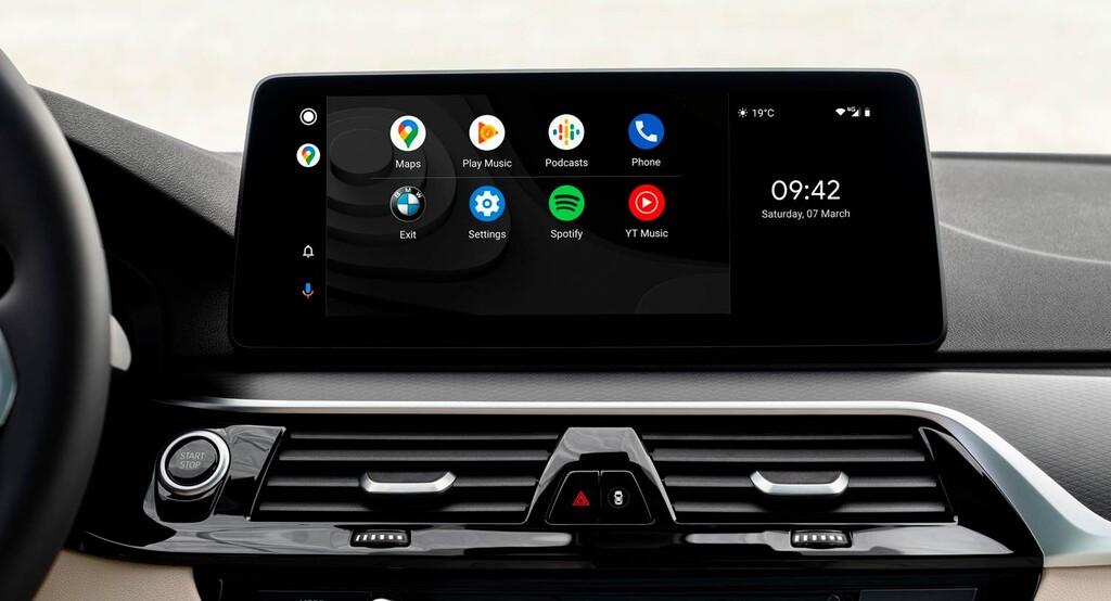Cómo hacer capturas de pantalla en Android Auto