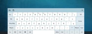 Cómo activar el teclado táctil y en pantalla de Windows 10