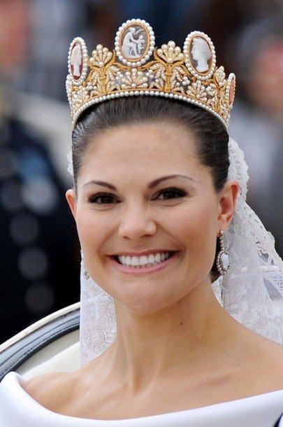 Boda de la Princesa Victoria de Suecia: Princesa Letizia vestido I