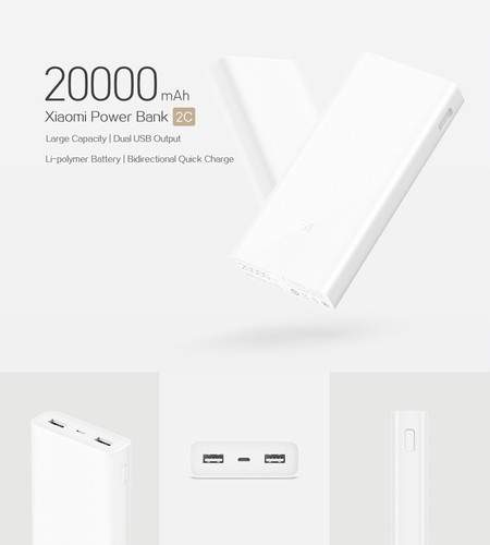 Original Xiaomi Power Bank 2c