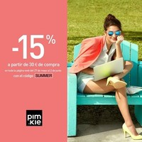 Nueva promoción de Pimkie: 15% de descuento en prendas de verano