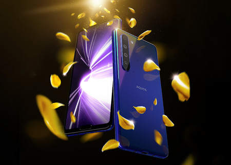 Sharp AQUOS R5G: Snapdragon 865 y 12 GB de RAM para un gama alta con doble notch