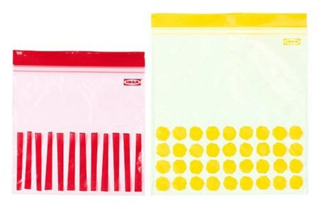 Istad: bolsas de congelación de Ikea