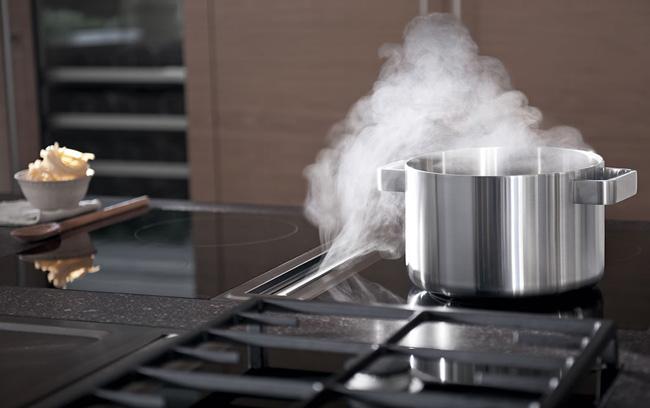 Extractores integrados en la encimera ni humos ni campanas - Extractor aire cocina ...