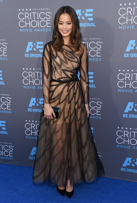 Jamie Chung Critics Choice Movie Awards 2015