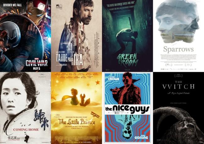 Algunas de las mejores películas de 2016