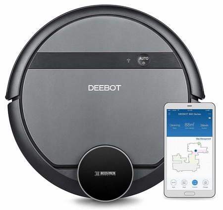 Ofertas de primavera en Amazon: robot de limpieza Ecovacs Robotics Deebot 901 por 289 euros hasta medianoche