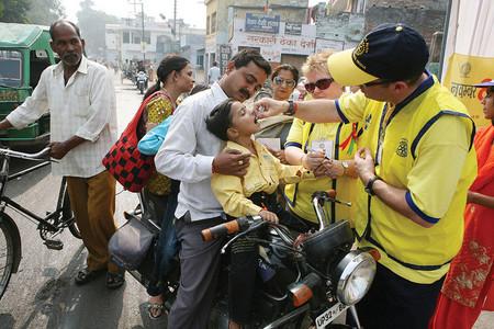 La polio en la India, a un paso de ser erradicada tras tres años sin un solo caso