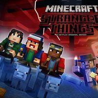 Netflix también contará con videojuegos, el primero será 'Minecraft: Story Mode' y Telltale prepara un título de 'Stranger Things'