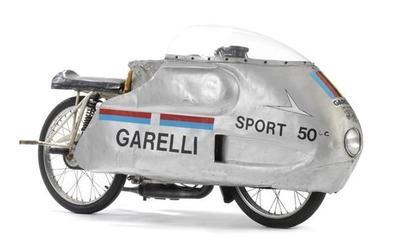 Garelli 50 Sport caza récords de 1963