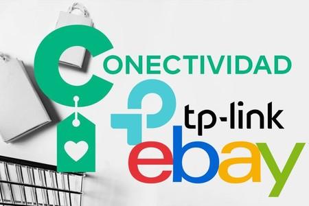 Ofertas en conectividad TP-Link en eBay: sistemas de WiFi en malla, extensores, kits PLC o routers 4G a precios más económicos