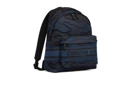 Diortravel Cruise 2020 Camouflage Bagpack