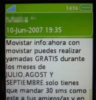 Cuidado con los bulos por SMS