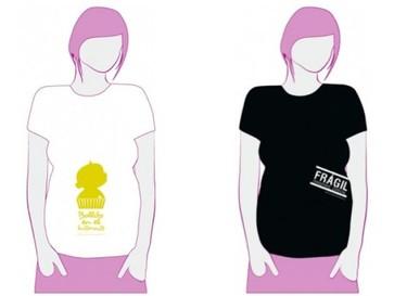 Las camisetas de mami, originales camisetas premamá
