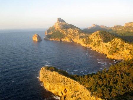 El Mirador de sa Creueta o Colomer en Mallorca