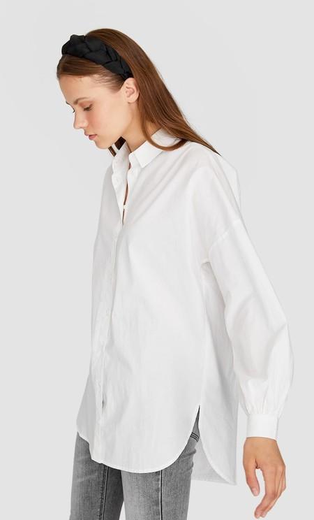Camisa Blanca Stradivarius 10