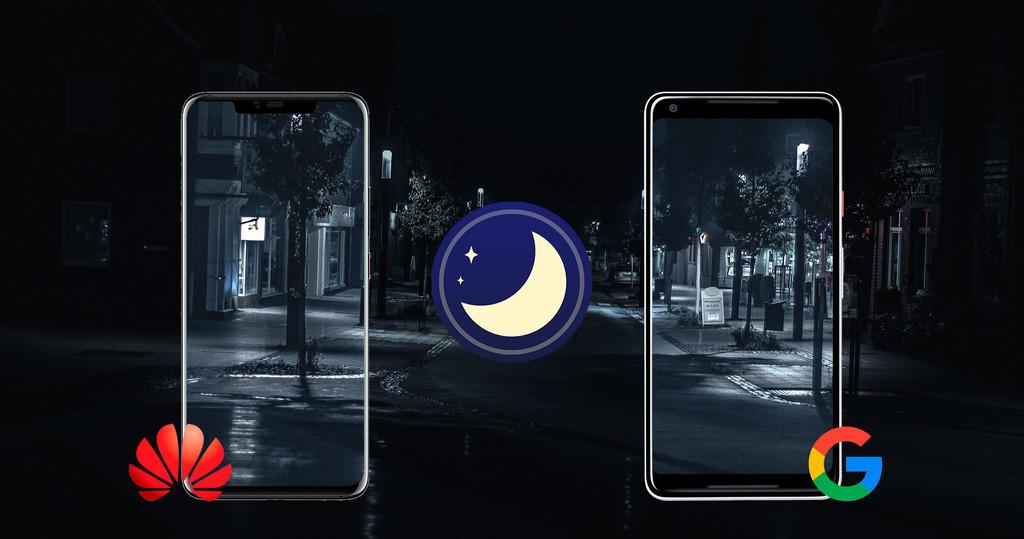 ¿Quién tiene el mejor manera noche?: Huawei℗ Mate 20 Pro contra Night Sight en el Pixel 2 XL