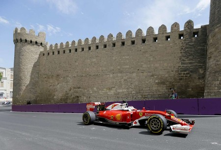 Vettel Baku Formula1