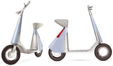 Scoot, motocicleta alimentada con electricidad
