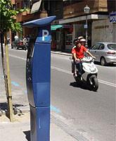 Consulta dónde hay sitio para aparcar, con el móvil