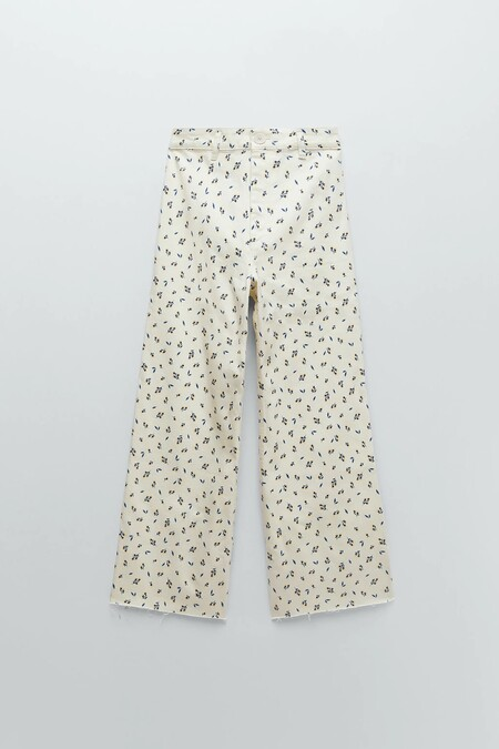 Zara Jeans Flores 01