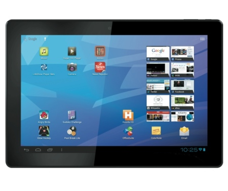 Archos FamilyPad, un tablet tamaño familiar