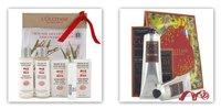 L'Occitane y gamas cosméticas para hombre: Arroz Rojo versus Cade