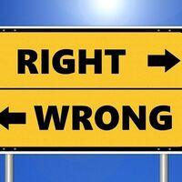 Las ideas que no pueden medirse con una regla solo son buenas o malas si lo acordamos como tal