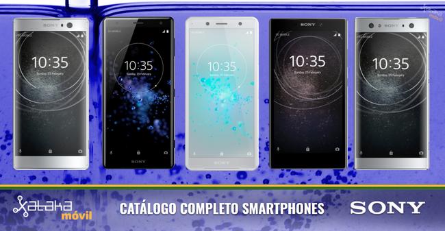 Sony Xperia XZ2 y XZ2 Compact, así encajan dentro del catálogo completo de smartphones Sony en 2018
