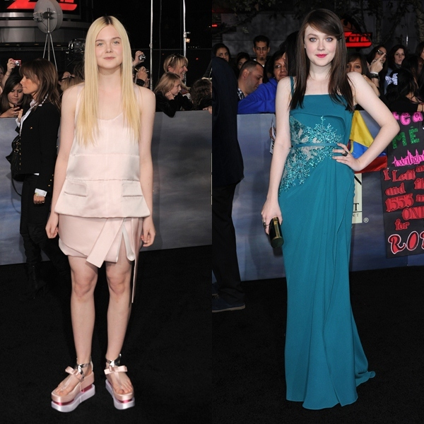 hermanas fanning crepusculo