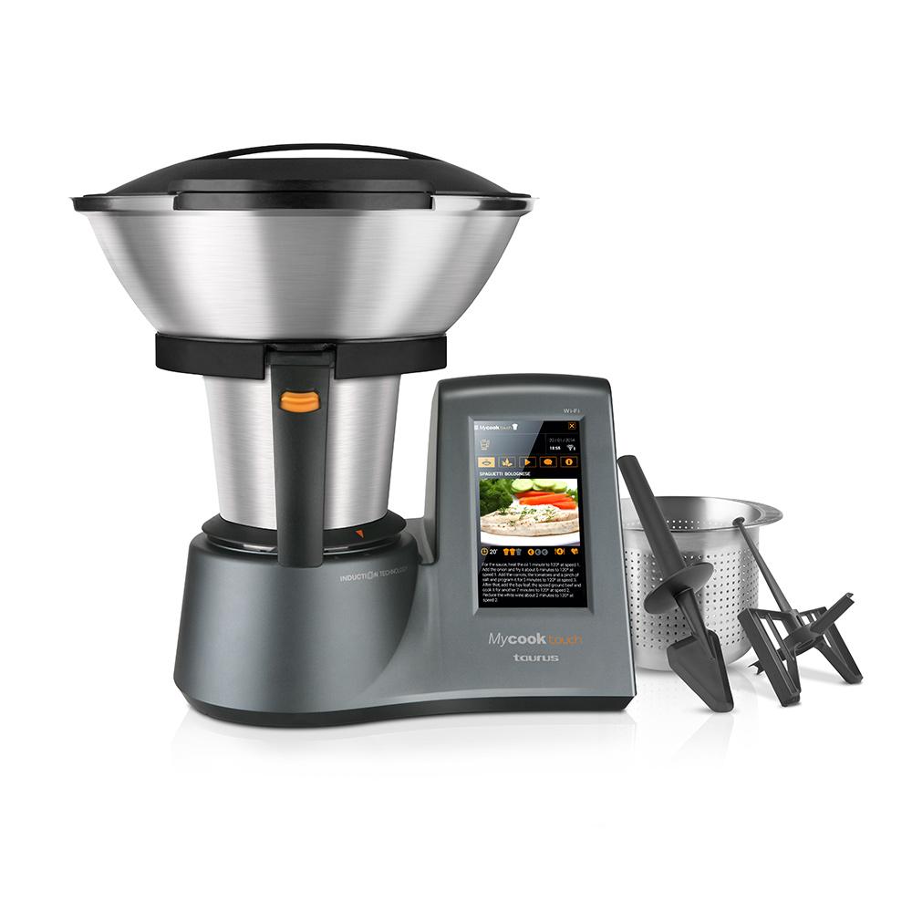Robot de cocina Mycook Touch de Taurus.  Promoción especial limitada a 25 unidades para seguidores de Directo al Paladar con nuestro código PALADARTOUCH