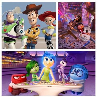 Las películas de Pixar mejor valoradas por la crítica y el público de todo el mundo, ordenadas por popularidad