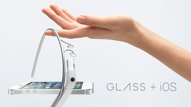 Google Glass + iOS iPhone 5