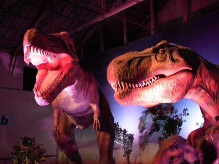 Los dinosaurios se instalan en Madrid hasta el 26 de Febrero 2012