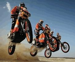 Nuevo Campeonato internacional de rallys para motos