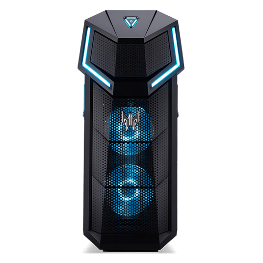 Acer Predator Orion 5000: ordenador gaming de sobremesa con Windows 10,  Intel Core i7 (6 núcleos) a 3,70 GHz, 16 GB DDR4 SDRAM, NVIDIA GeForce RTX 2070 8 GB, 512 GB SSD, 1-2 TB HDD