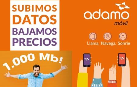 Tras hacerse con la fibra más rápida y barata, ahora Adamo impulsa su oferta con más gigas en el móvil