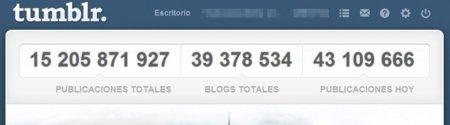 Tumblr ha crecido mucho en el último año