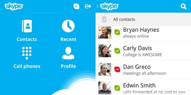 Skype para BB 10