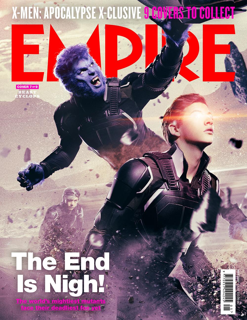 Foto de 'X-Men: Apocalipsis', 9 portadas de Empire (7/9)