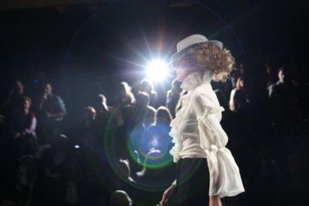 Alma Aguilar en la Cibeles Madrid Fashion Week Otoño-Invierno 2011/2012